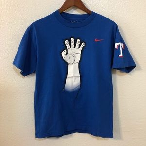 Nike Texas Rangers Deer Hands Loose Fit T-Shirt